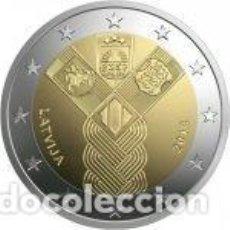 Euros: LETONIA 2018. 2 EUROS. CENTENARIO DE LA FUNDACIÓN DE LOS ESTADOS BÁLTICOS INDEPENDIENTES. S/C. Lote 235539060