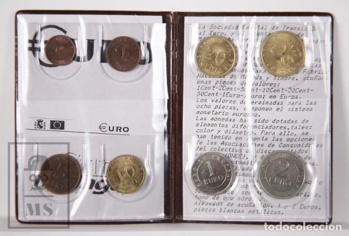 Euros: Cartera Euro en Prueba, Churriana. Málaga, Año 1998 / España 98 - Serie Completa, Sin Circular - Foto 2 - 163835318