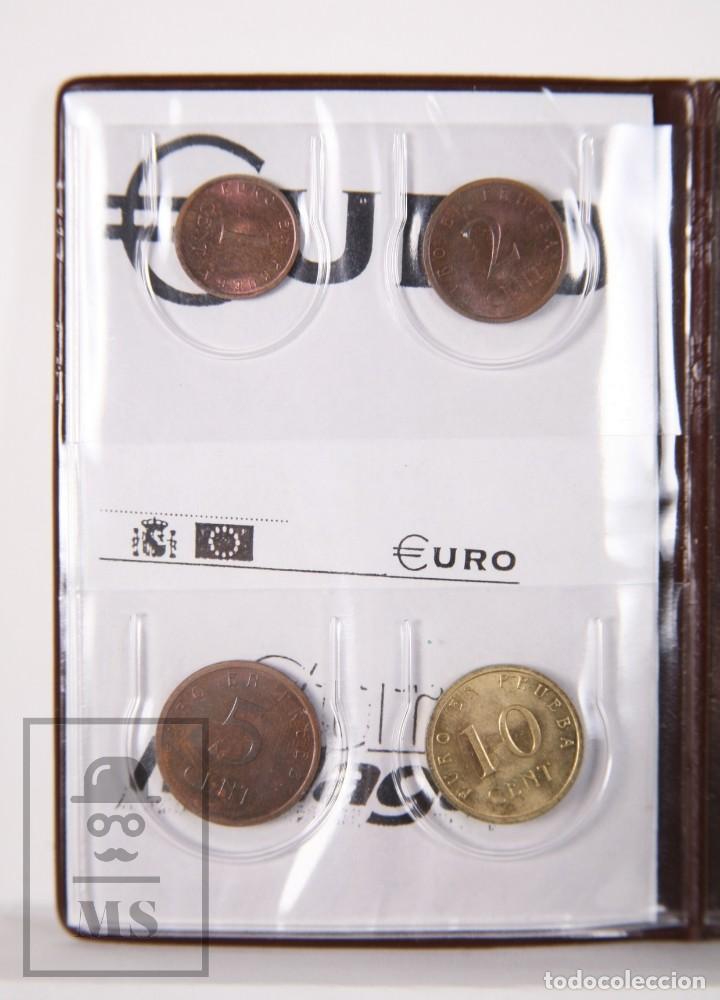 Euros: Cartera Euro en Prueba, Churriana. Málaga, Año 1998 / España 98 - Serie Completa, Sin Circular - Foto 5 - 163835318