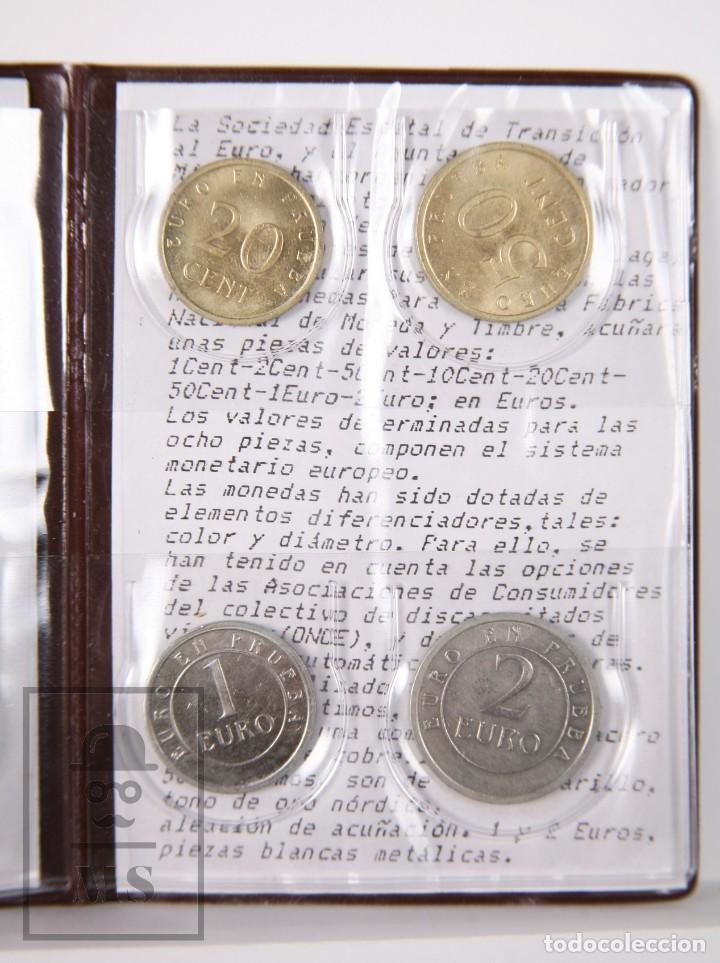 Euros: Cartera Euro en Prueba, Churriana. Málaga, Año 1998 / España 98 - Serie Completa, Sin Circular - Foto 6 - 163835318