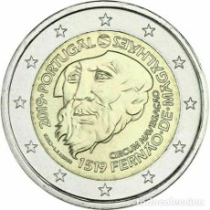 Euros: 2 EUROS CONMEMORATIVA PORTUGAL 2019 MAGALLANES SC. Lote 175077115