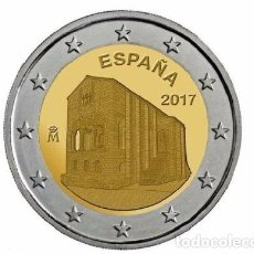 Euros: ESPAÑA 2 EURO 2017. IGLESIA SANTA MARIA DEL NARANCO.. Lote 235527830