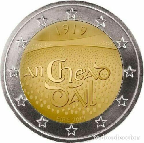2 EUROS IRLANDA 2019 DAIL EIRE (Numismática - España Modernas y Contemporáneas - Ecus y Euros)