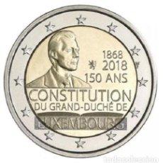Euros: 2 EURO CONMEMORATIVA LUXEMBURGO 2018 CONSTITUCION SC. Lote 166403924