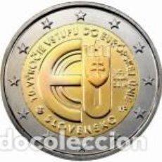 Euros: ESLOVAQUIA 2014. 2 EUROS CC 10º ANIVERSARIO DE LA ENTRADA DE LA REPÚBLICA ESLOVACA EN LA UNIÓN EUROP. Lote 279411608