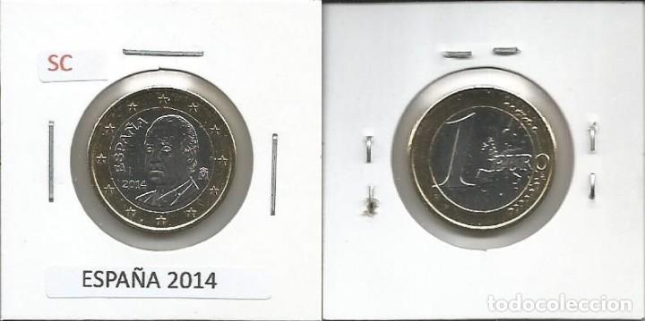 ESPAÑA 2014 - 1 EURO - SC (Numismática - España Modernas y Contemporáneas - Ecus y Euros)