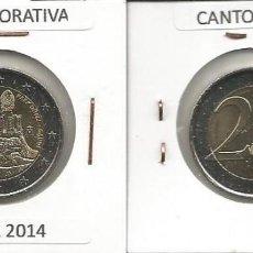 Euros: ESPAÑA 2014 CONMEMORATIVA - 2 EURO SC. Lote 167492588