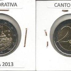 Euros: ESPAÑA 2013 CONMEMORATIVA - 2 EURO SC. Lote 167492896