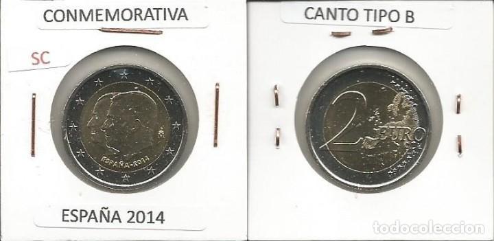 ESPAÑA 2014 CONMEMORATIVA - 2 EURO SC (Numismática - España Modernas y Contemporáneas - Ecus y Euros)