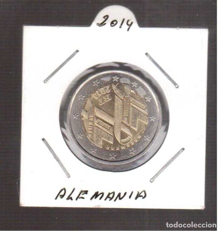 EUROPA 2 EUROS DE ALEMANIA 2014 LA QUE VES (Numismática - España Modernas y Contemporáneas - Ecus y Euros)