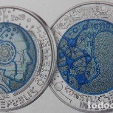Euros: AUSTRIA 2019. MONEDA DE 25 EUROS DE NIOBIO. INTELIGENCIA ARTIFICIAL. CON CAJA Y CERTFICADO. Lote 168476440