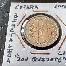 Euros: MONEDA 2 EUROS ESPAÑA 2005 DON QUIJOTE MBC ENCARTONADA. Lote 205299851