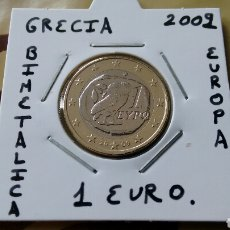 Euros: MONEDA 1 EURO GRECIA 2009 MBC ENCARTONADA. Lote 211444802