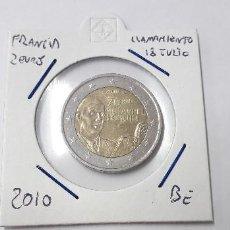 Euros: 10-00238 FRANCIA- 2 € -2010-LLAMAMIENTO 18 JULIO. Lote 170028268