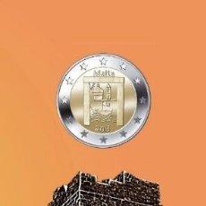 Euros: MALTA 2018 2€ PATRIMONIO CULTURAL COINCARD. Lote 170225885