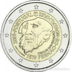 Euros: PORTUGAL 2019. MONEDA DE 2 EUROS CONMEMORATIVA DE MAGALLANES. DE CARTUCHO. SIN CIRCULAR. Lote 184552635