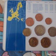 Euros: CARTERA EUROS GRECIA AÑO 2002 SIN CIRCULAR. Lote 171083379
