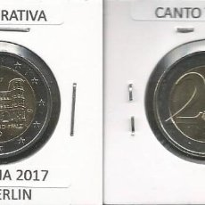 Euros: ALEMANIA 2017 CONMEMORATIVA - CECA A - SC. Lote 171083709