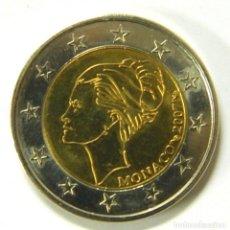 Euros: 2 EUROS CONMEMORATIVA MONACO 2007 GRACE KELLY PRUEBA. Lote 222438297