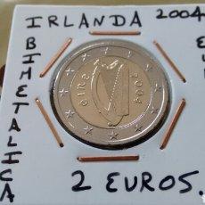 Euros: MONEDA 2 EUROS IRLANDA 2004 MBC ENCARTONADA. Lote 226749085