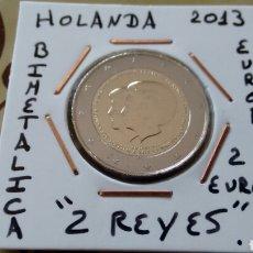 Euros: MONEDA 2 EUROS HOLANDA 2013 2 REYES MBC ENCARTONADA. Lote 192040985