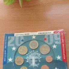 Euros: CARTERA EUROS FRANCIA AÑO 2009. Lote 171730059