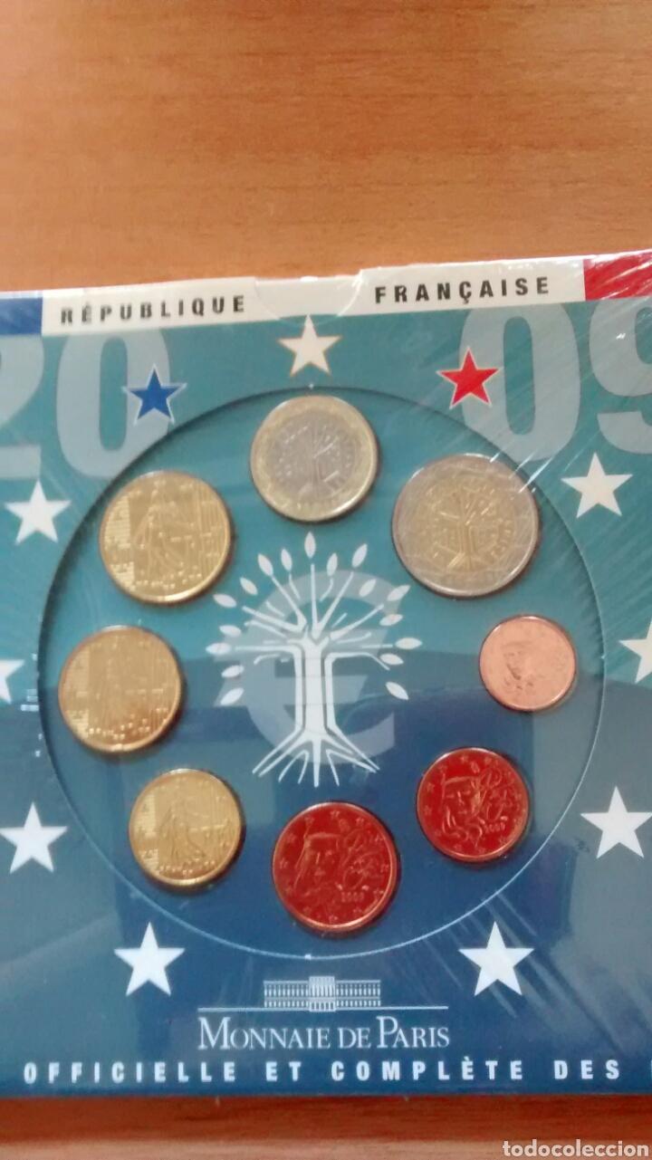 Euros: Cartera euros Francia año 2009 - Foto 3 - 171730059