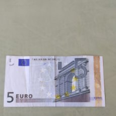 Euros: BILLETE 5€ PRIMERA FIRMA ALEMANIA . VER FOTO. Lote 171985348