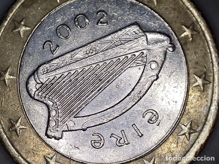 Euros: 1 EURO IRLANDA 2002 CIRCULADA - MONEDAS USADAS EUROS - Foto 2 - 172381965