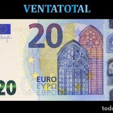 Euros: BILLETE TRAINER DE 20 EUROS BILLETE PARA COLECCIONARLO O JUGAR O ENSEÑANZA SE USAN EN PELICULAS- Nº2. Lote 210528985