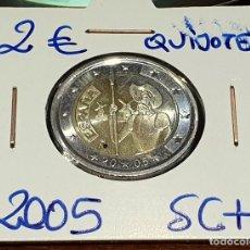 Euros: ESPAÑA - 2 € CONMEMORATIVOS - AÑO 2005 - EL QUIJOTE - SC - ESP 50. Lote 172906070