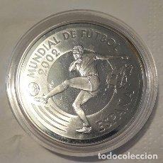 Euros: ESPAÑA 10 EUROS 2002 MUNDIAL DE FUTBOL 2002 DELANTERO / PELOTA. Lote 172927322
