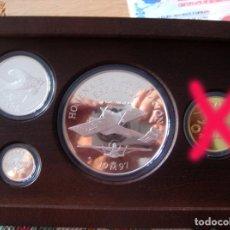 Euros: 1997 EURO AVIACIÓN - SERIE COMPLETA PLATA.. Lote 173028042