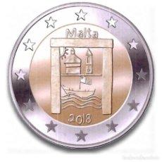 Euros: MALTA 2018 2€ PATRIMONIO CULTURAL. Lote 194733282