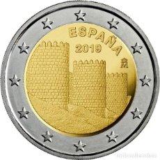 Euros: ESPAÑA 2 EUROS 2019 PATRIMONIO MUNDIAL ( MURALLA DE ÁVILA ). Lote 194549766