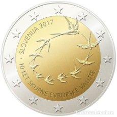 Euros: ESLOVENIA 2017 2€ DÉCIMO ANIVERSARIO DEL EURO EN ESLOVENIA. Lote 192028565