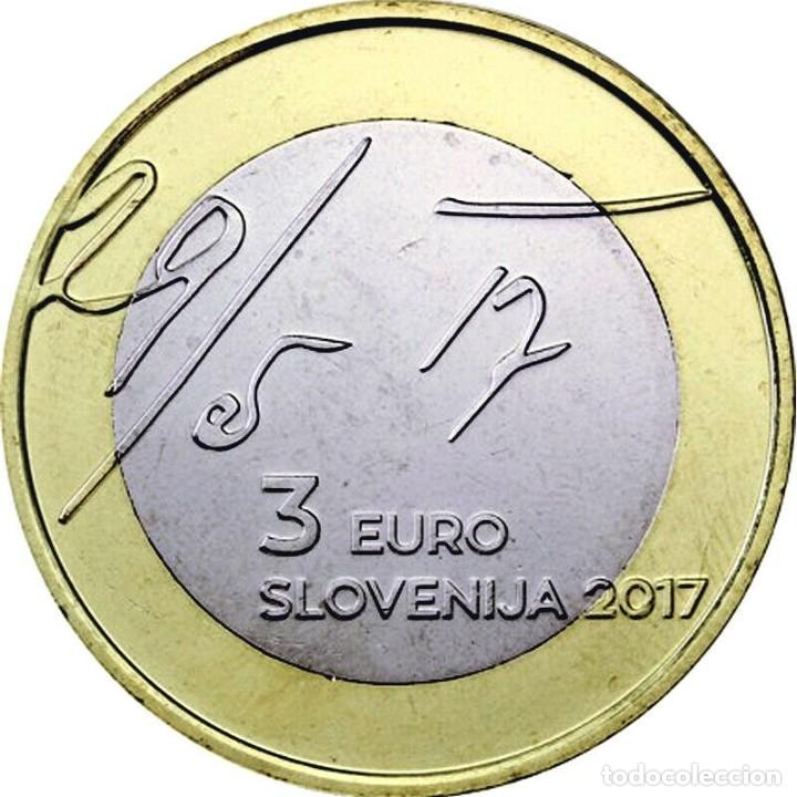 ESLOVENIA 2017 3€ (Numismática - España Modernas y Contemporáneas - Ecus y Euros)