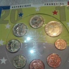 Euros: SERIE FRANCIA 2011 EN CARTERA OFICIAL. Lote 174542693