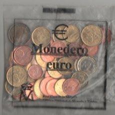 Euros: MONEDERO FNMT 2001 CON 43 MONEDAS EUROS 12,02 SC NUEVAS EN SOBRE SIN ABRIR. Lote 175236114
