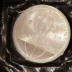Euros: ESPANA-12-EUROS-DE-PLATA-2008-PLANETA-TIERRA PRECINTADA EN BOLSA. Lote 175315978