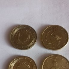 Euros: BOLSITA DE CENTIMOS DE VARIOS PAISES Y AÑOS. Lote 175841497