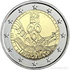 Euros: ESTONIA 2 EUROS 2019 150 ANIVERSARIO DEL FESTIVAL DE LA CANCIÓN DE ESTONIA. Lote 176161934