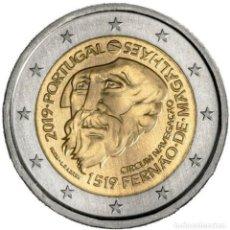 Euros: PORTUGAL 2 EUROS 2019 500 AÑOS DE LA CIRCUNNAVEGACIÓN DE MAGALLANES. Lote 176161978