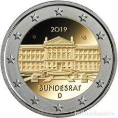 Euros: ALEMANIA 2 EUROS 2019 70º ANIVERSARIO DEL BUNDESRAT ALEMÁN J. Lote 176162474