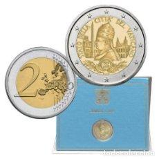 Euros: VATICANO 2019 2€ 90° ANIVERSARIO DE LA FUNDACIÓN DEL ESTADO DE LA CIUDAD DEL VATICANO. Lote 190770292