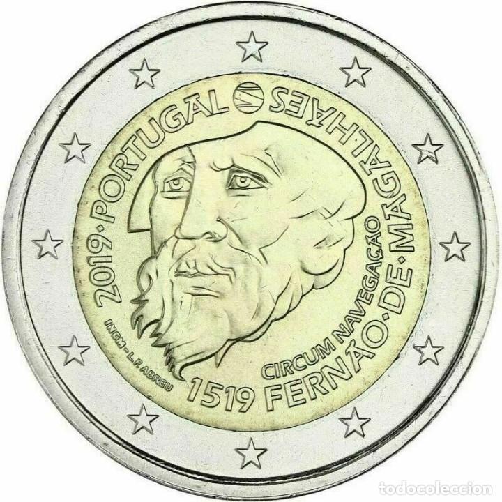 PORTUGAL 2019 2€ MAGALLANES (Numismática - España Modernas y Contemporáneas - Ecus y Euros)