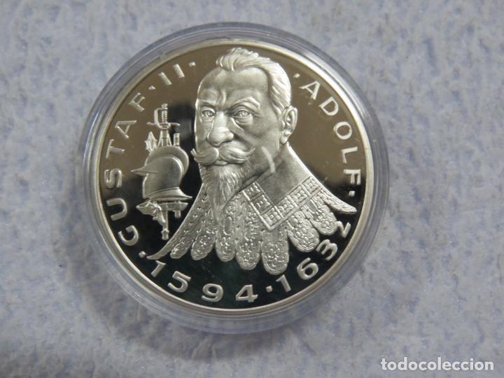 Euros: SUECIA - SVERIGE- 2 MONEDAS DE 20 ECUA EN PLATA PURA 999 CALIDAD PROOF, AÑOS 1997-1998, SOLO 1500 - Foto 4 - 177419917