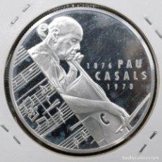 Euros: PAU CASALS 25 ECU 1993 PLATA SILVER CATALUNYA CATALUÑA. Lote 177713855