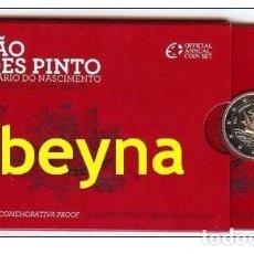 Euros: PORTUGAL 2€ CC 2011. FERNANDO MENDES PINTO. PROOF. Lote 178008335