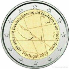Euros: 2 EUROS PORTUGAL 2019 MADEIRA. Lote 178112064